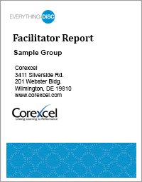 Everything DiSC Sales Facilitator Report