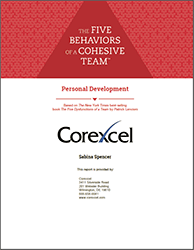 Five Behaviors Personality Development Assessment